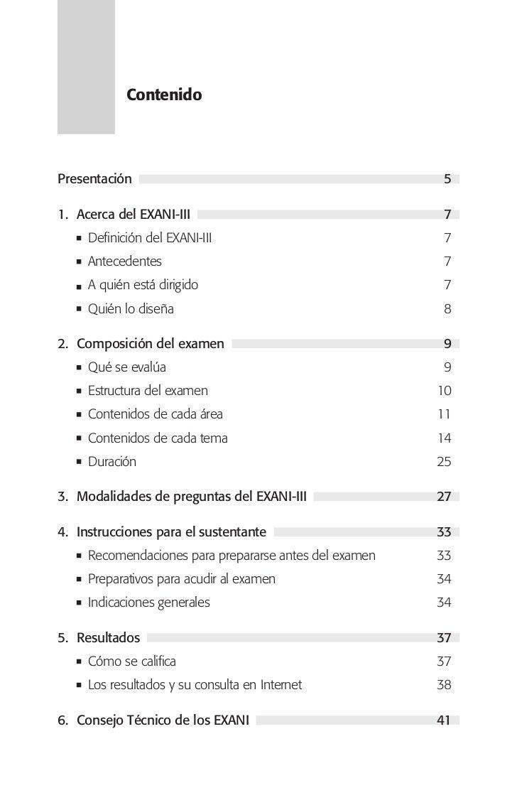 Guia del exani iii para alumnos de nuevo ingreso en meba for Guia mecanica de cocina pdf
