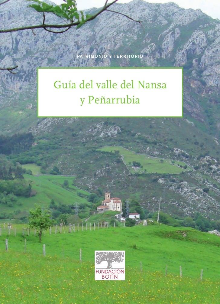 PAT R I M O N I O Y T E R R I TO R I OGuía del valle del Nansa     y Peñarrubia
