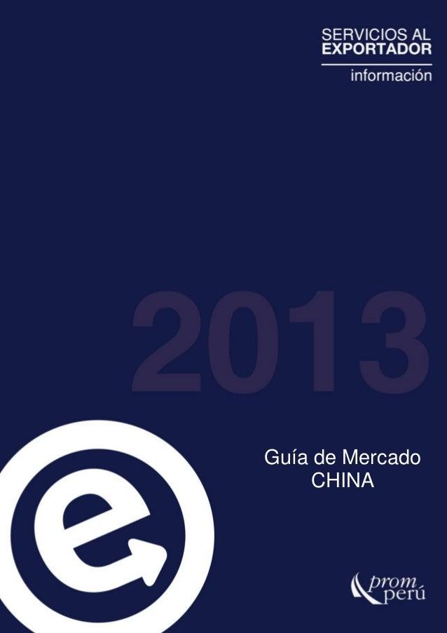 Guía de Mercado CHINA