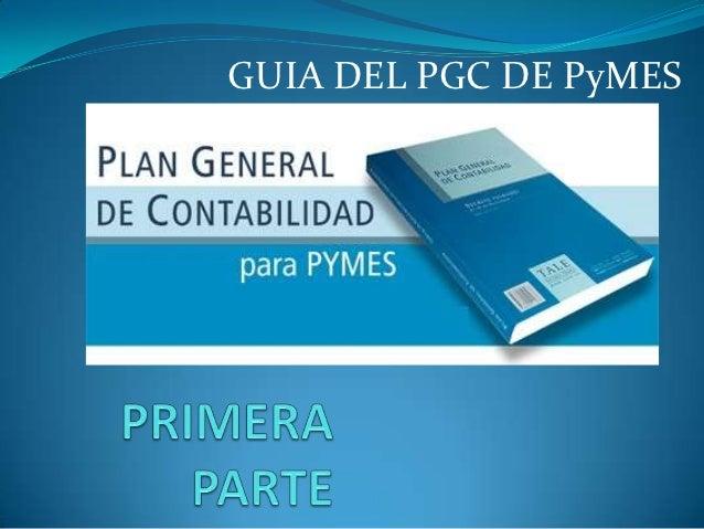 GUIA DEL PGC DE PyMES