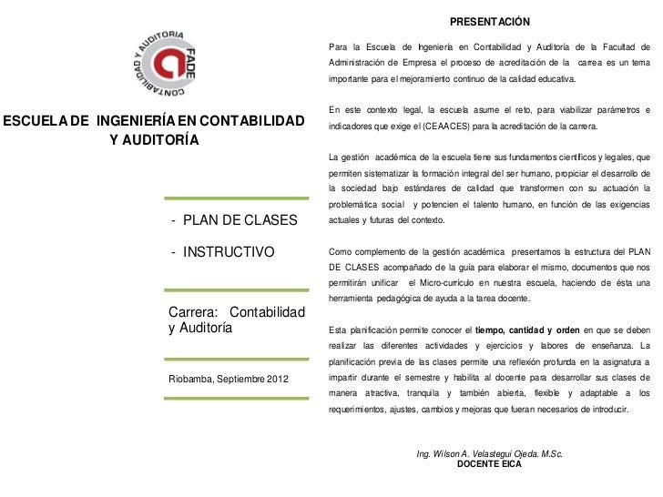 ESCUELA DE INGENIERÍA EN CONTABILIDAD Y AUDITORÍA                                                                         ...