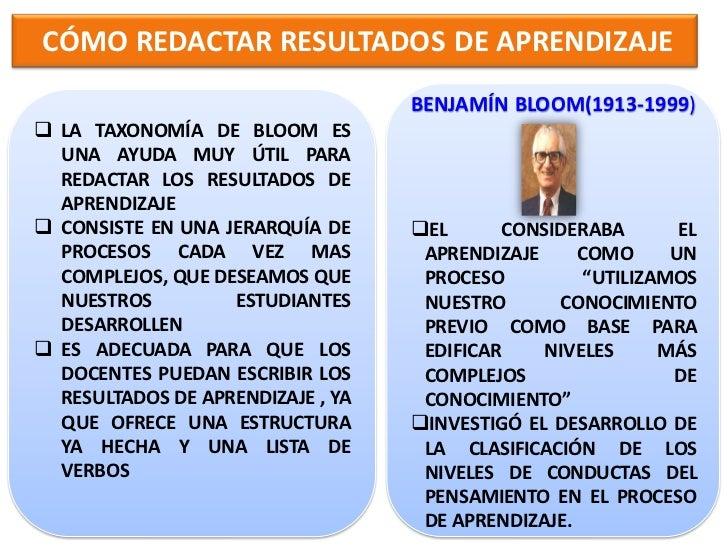 TAXONOMÍA DE BLOOM-DOMINIO COGNITIVO 6. EVALUACIÓN        1. CONOCIMIENTO                     LA CAPACIDAD DE RECORDAR   ...