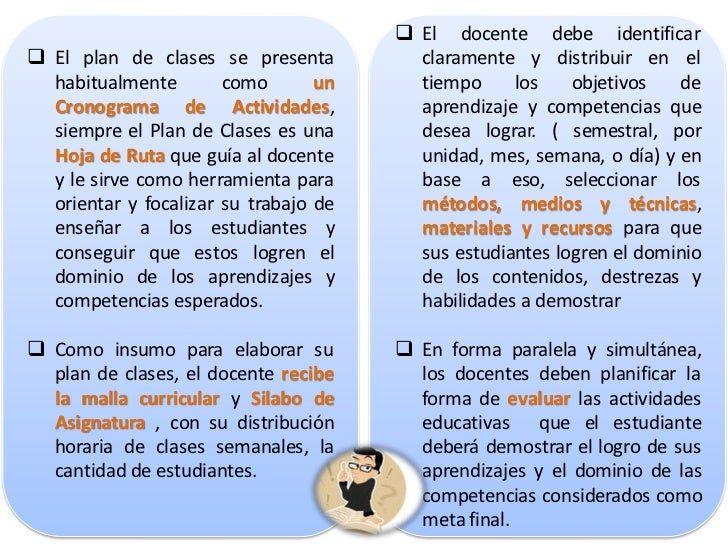 ELEMENTOS DE UN PLAN DE CLASESInformación preliminar de la asignatura:     Nombre de la asignatura     Código     Nivel...
