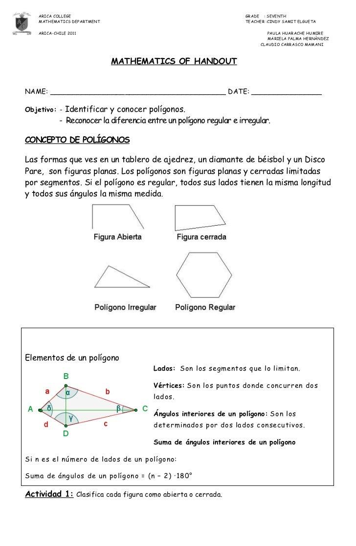 Guia de poligonos 7º