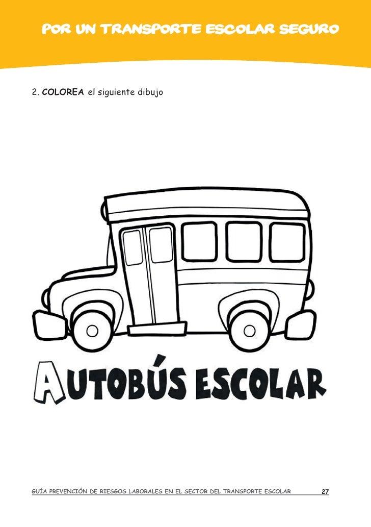 Guia de prevencion en el transporte escolar