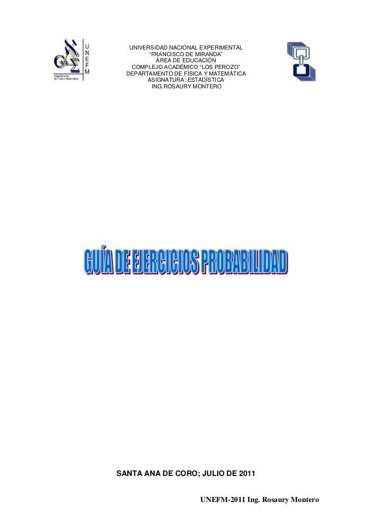 """UNIVERSIDAD NACIONAL EXPERIMENTAL         """"FRANCISCO DE MIRANDA""""            ÁREA DE EDUCACIÓN    COMPLEJO ACADÉMICO """"LOS P..."""