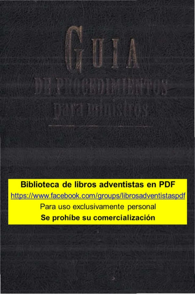 Biblioteca de libros adventistas en PDF https://www.facebook.com/groups/librosadventistaspdf