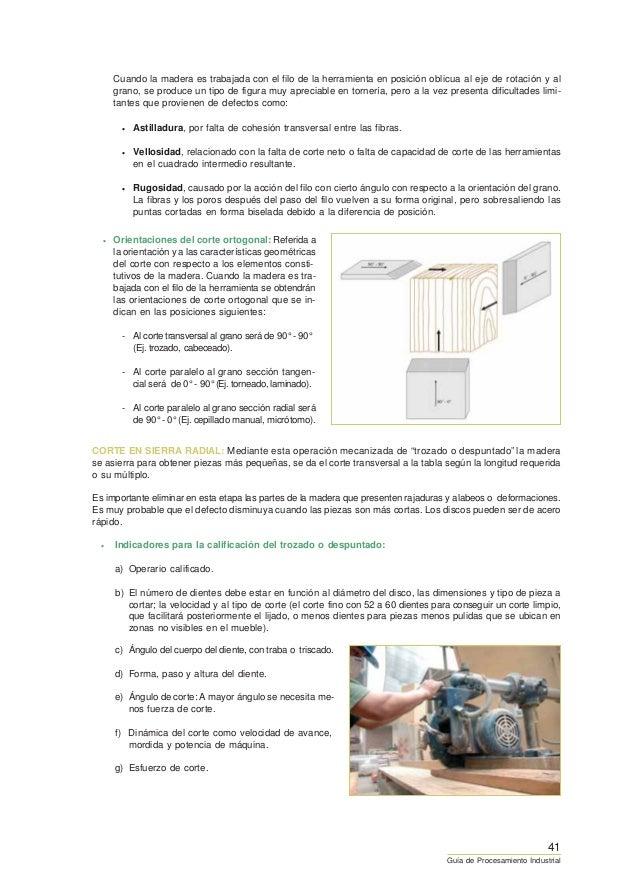 Guia de procesamiento industrial de fabricacion de muebles