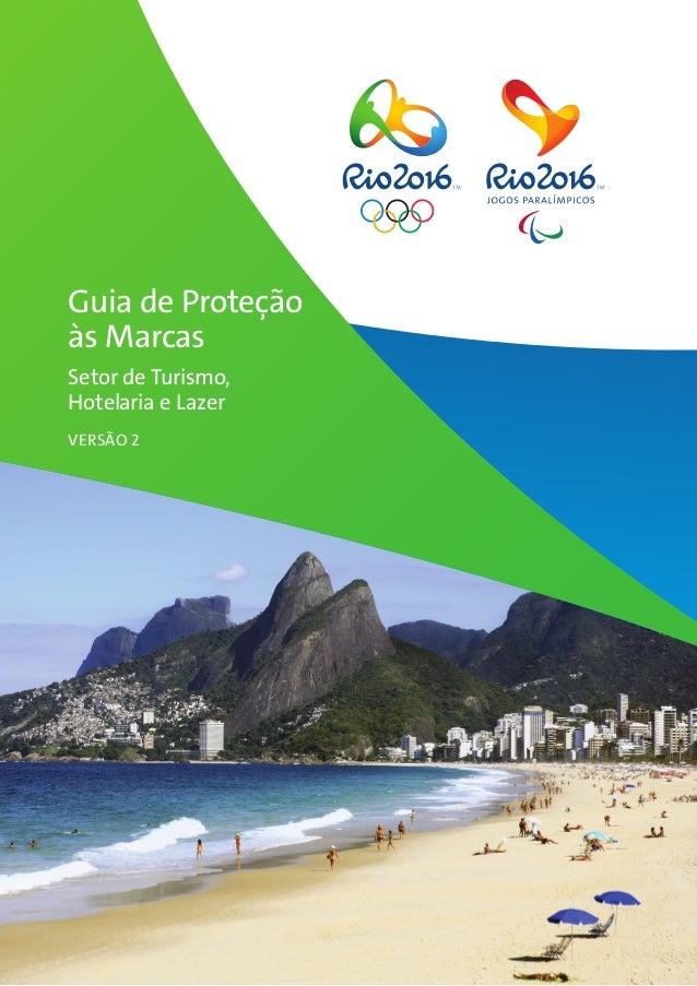 Guia de Proteção às Marcas Setor de Turismo, Hotelaria e Lazer VERSÃO 2