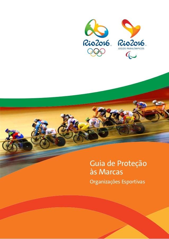 Guia de Proteção às Marcas Organizações Esportivas