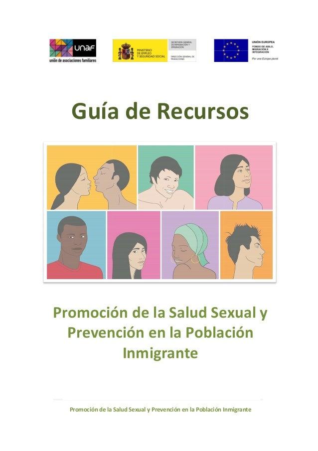 Promoción de la Salud Sexual y Guía de Recursos Promoción de la Salud Sexual Preven Promoción de la Salud Sexual y Prevenc...
