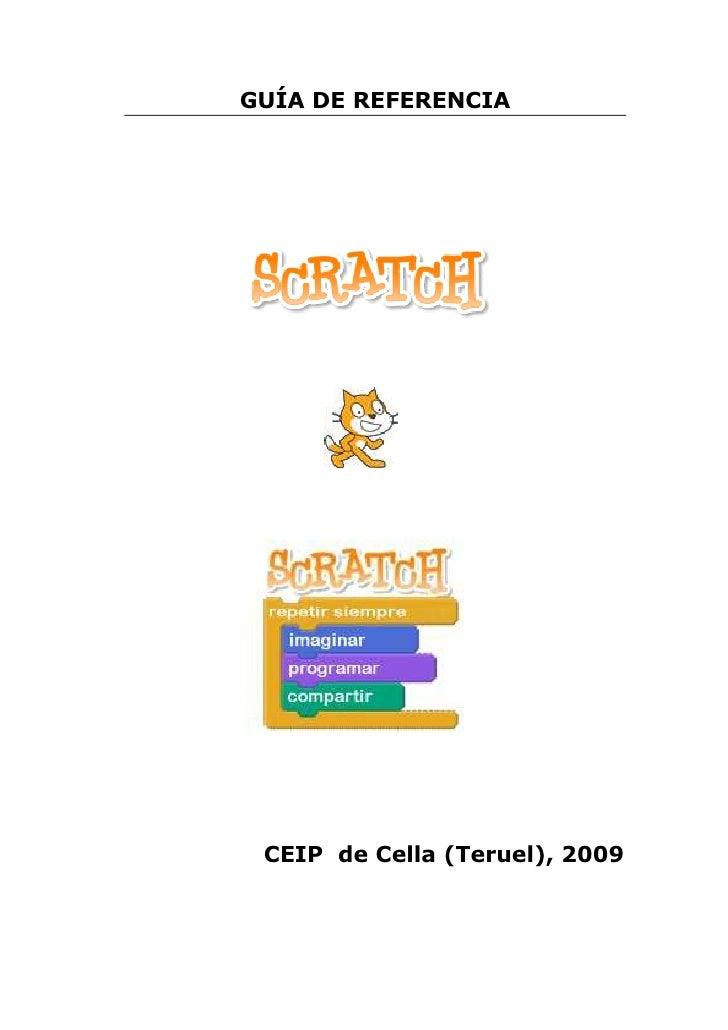GUÍA DE REFERENCIA CEIP de Cella (Teruel), 2009