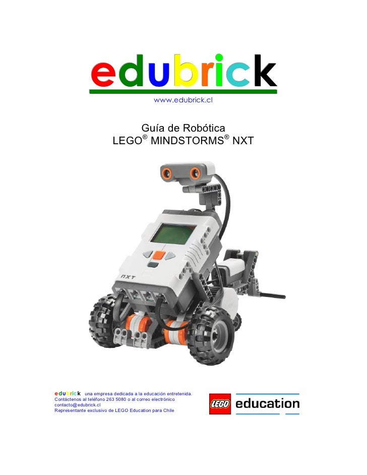 edubrick                     www.edubrick.cl                             Guía de Robótica                         LEGO® MI...