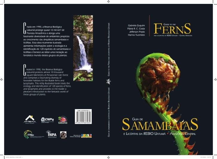 Autores/Authors ::      Gabriela Zuquim      Flávia R. C. Costa      Jefferson Prado      Hanna TuomistoProjeto gráfico e ...