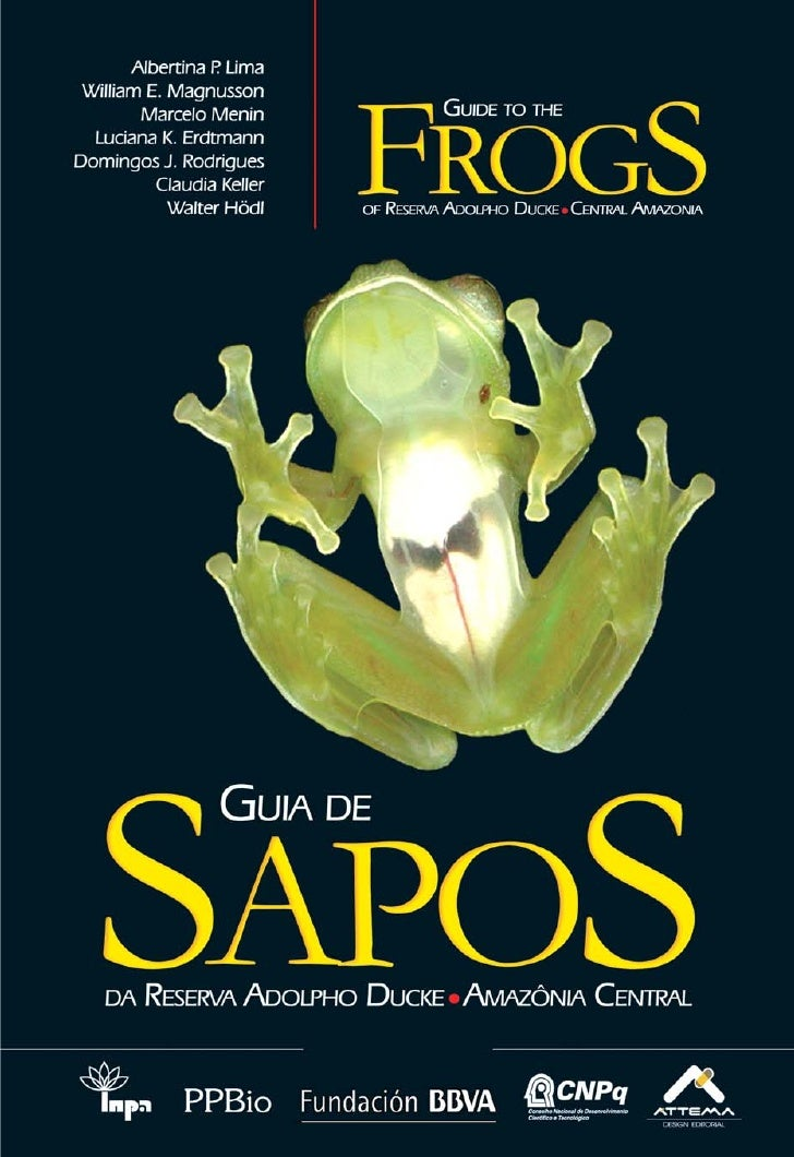 Guia de sapos da reserva ducke   amazônia central