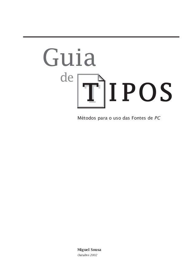 Guia de  Métodos para o uso das Fontes de PC  Miguel Sousa Outubro 2002