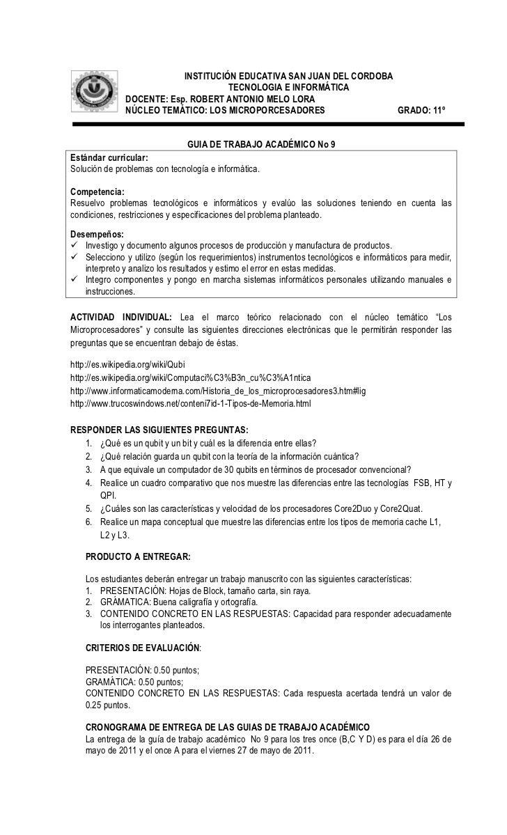INSTITUCIÓN EDUCATIVA SAN JUAN DEL CORDOBA                                    TECNOLOGIA E INFORMÁTICA              DOCENT...