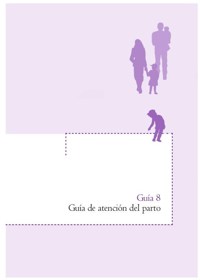 Guía 8  Guía de atención del parto