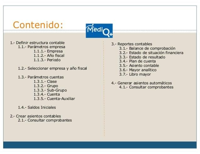 Mediq Guia De Usuario Modulo Contabilidad