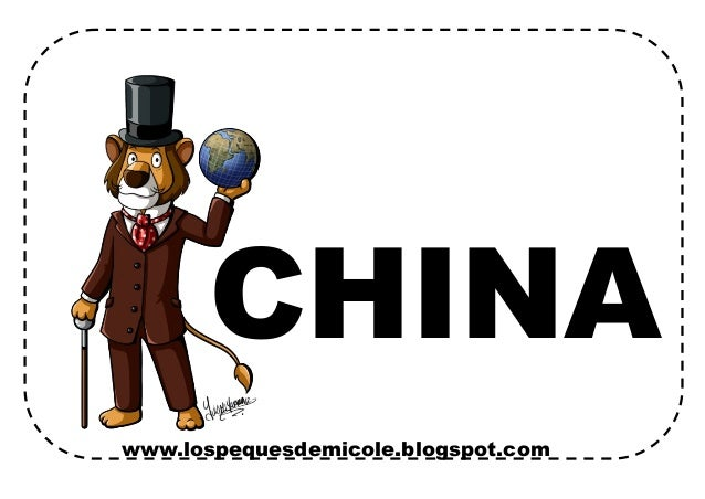 www.lospequesdemicole.blogspot.com CHINA