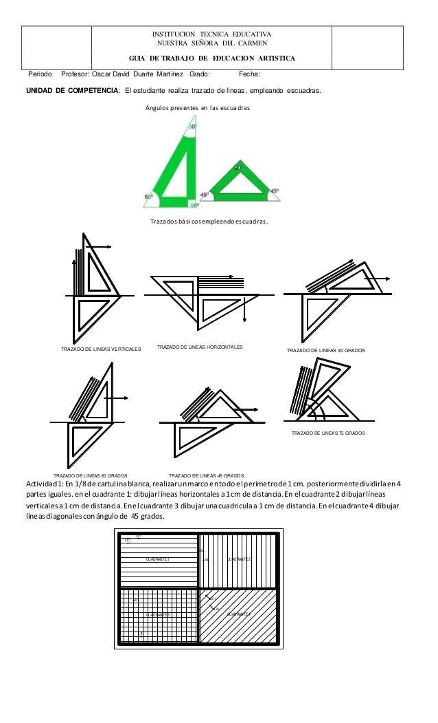 Guia Dibujo Tecnico Carga Blog