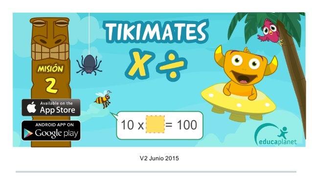 Tikimates Guía didáctica, consejos V2 Junio 2015