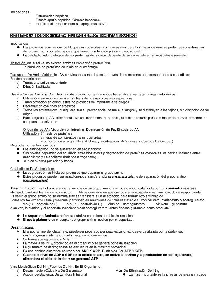 Indicaciones.            •    Enfermedad hepática.            •    Encefalopatía hepática (Cirrosis hepática).            ...