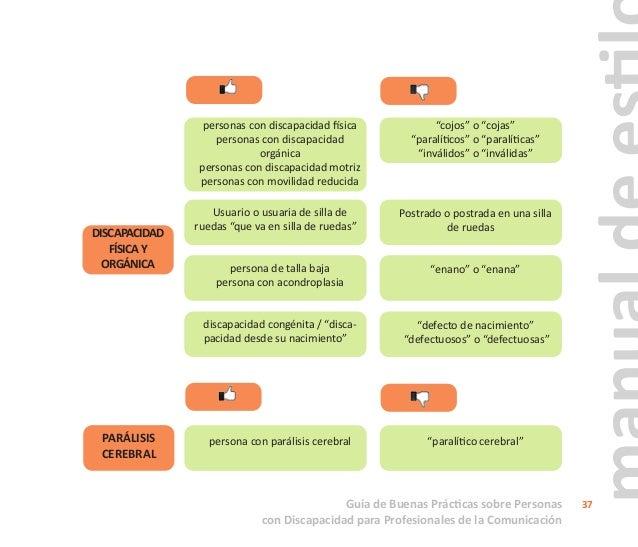 Guía de Buenas Prácticas sobre Personas con Discapacidad para Profesionales de la Comunicación 38 DISCAPACIDAD SENSORIAL A...
