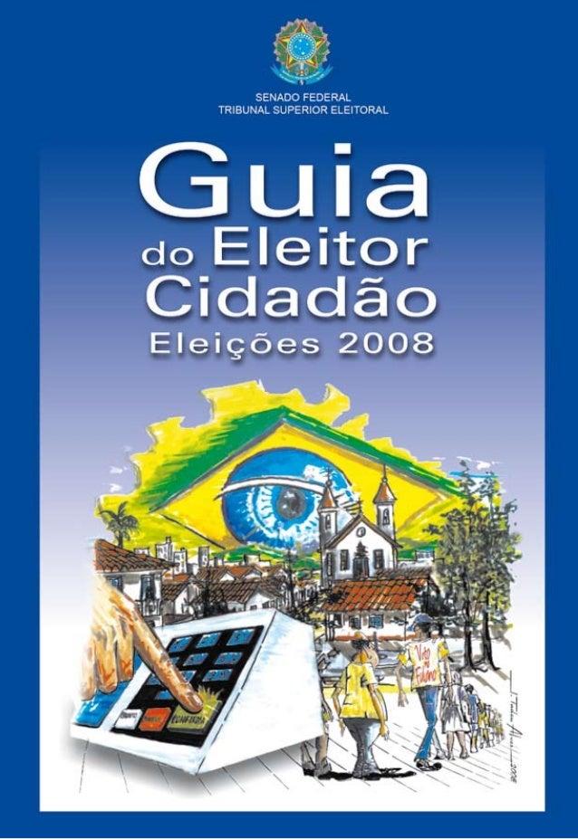 1 Guia do Eleitor Cidadão Capa