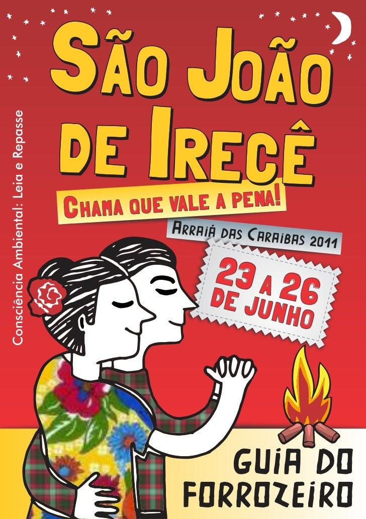 Guia do forrozeiro 2011