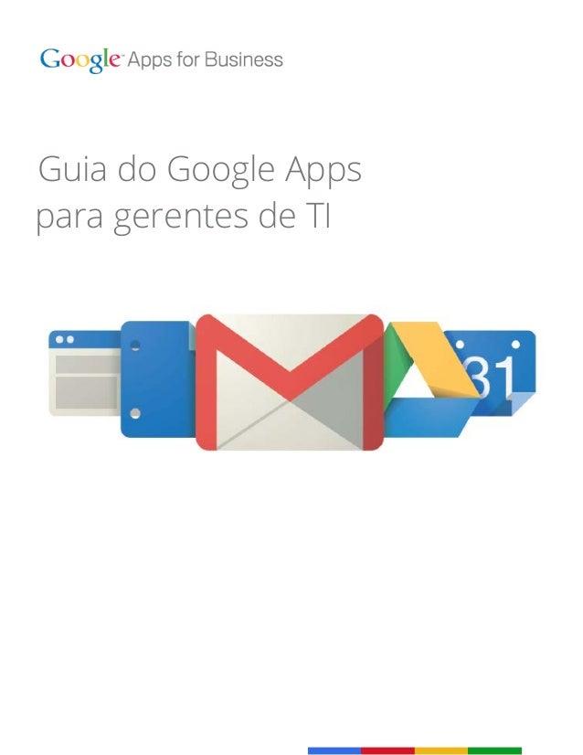 Guia do Google Appspara gerentes de TI