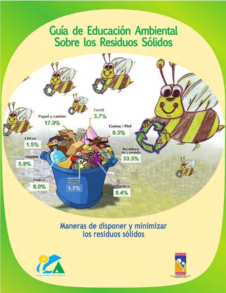 Limpiando los residuos - 3 5