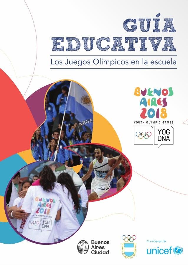 16686a9809 Guía educativa  los Juego Olímpicos en la escuela