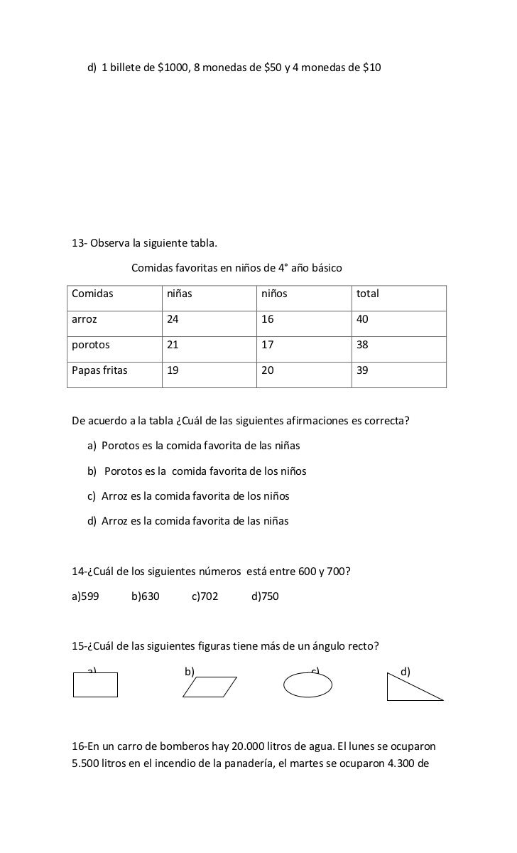 Guia Ejercicios Matematicas