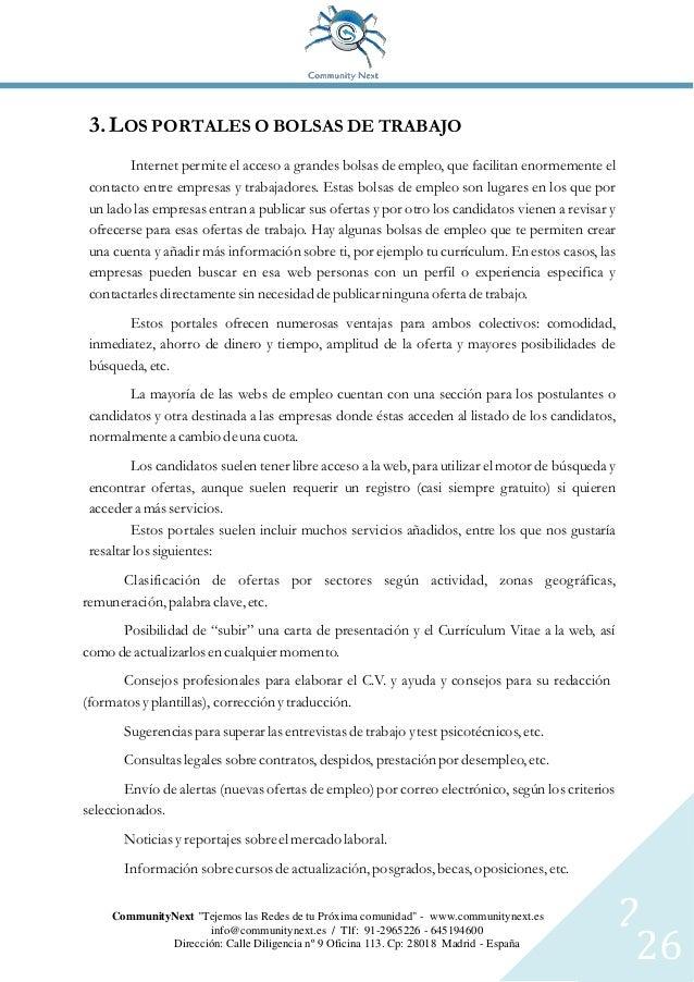 Guía de empleo del 1.0 al 2.0 - 2015