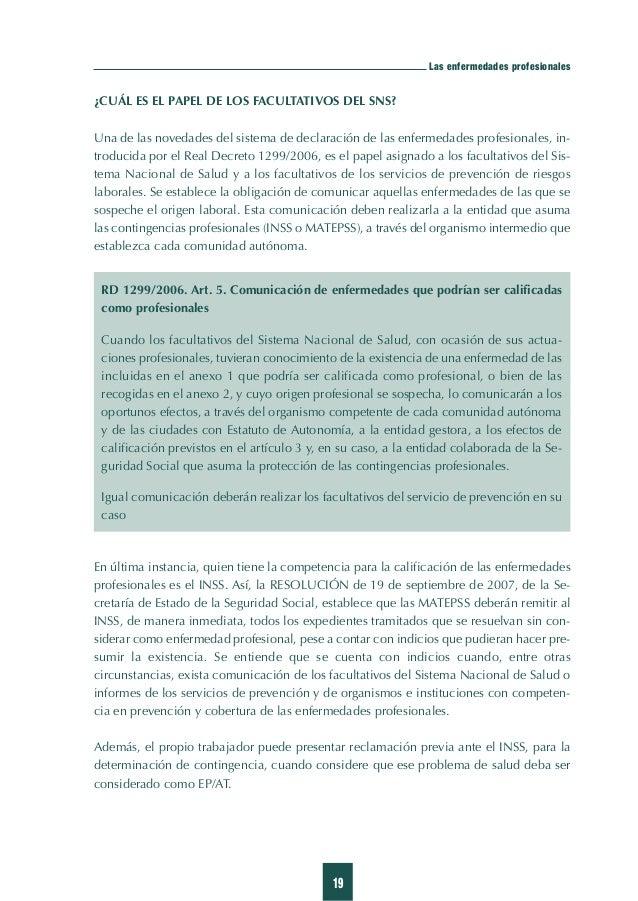 27 El sistema de comunicación de sospechas de enfermedades profesionales en la Comunidad Valenciana SISTEMADECOMUNICACIÓND...