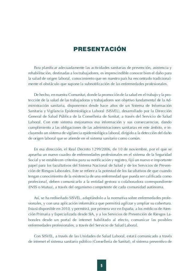 11 Introducción El reconocimiento de una enfermedad como profesional tiene repercusiones individuales y colectivas. A nive...