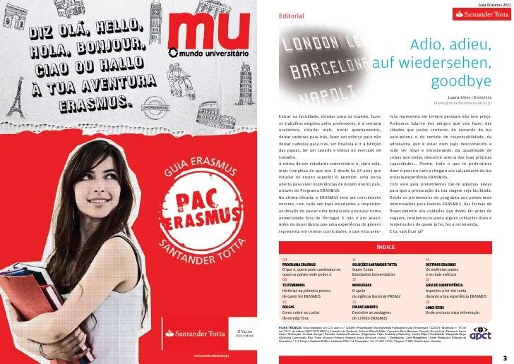 Guia Erasmus 2011    Editorial                                                                                  Adio, adie...