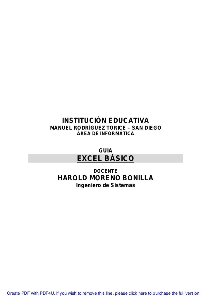 INSTITUCIÓN EDUCATIVA                       MANUEL RODRÍGUEZ TORICE – SAN DIEGO                                     ÁREA D...
