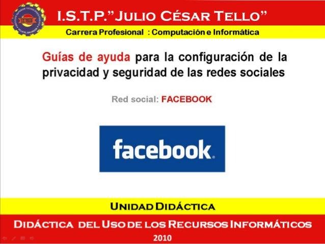 UNIDAD DIDÁCTICA : DIDÁCTICA DEL USO DE LOS RECURSOS INFORMÁTICOS – Ciclo II – 2010 --II