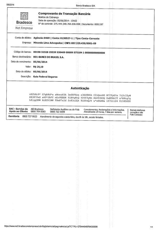Guia federal seguros x maria celia carvalho de barros   0034715-66.2010....