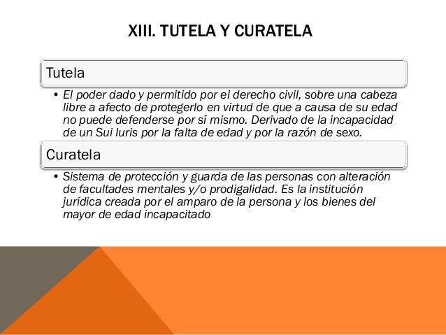 Matrimonio Romano Tutela Y Curatela : Derecho romano i