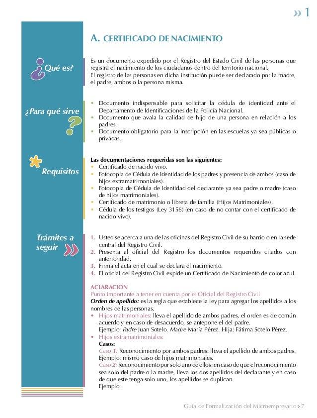 Atractivo Solicitud De Certificado De Nacimiento Sa Colección ...
