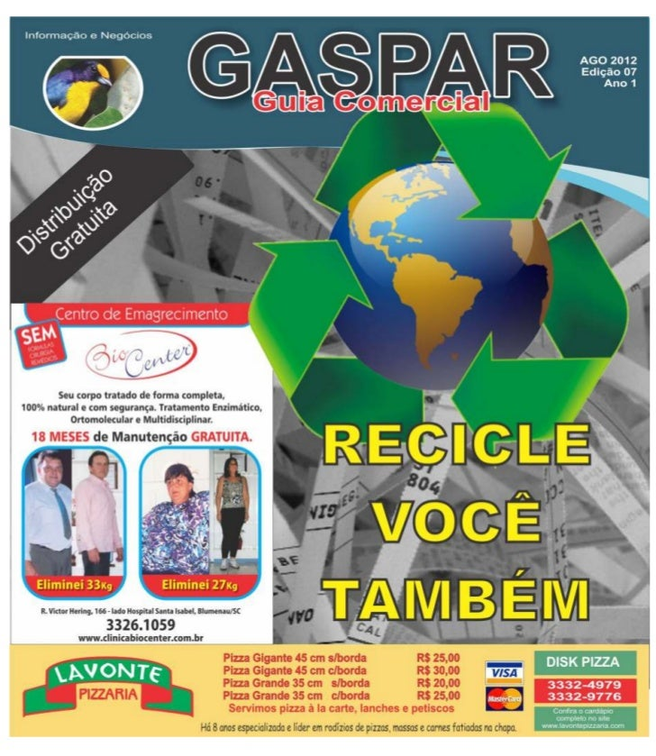 Classi Gaspar agosto 2012