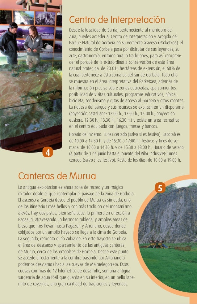 Gorbeia turismo en las monta as vascas for Gopegi piscinas