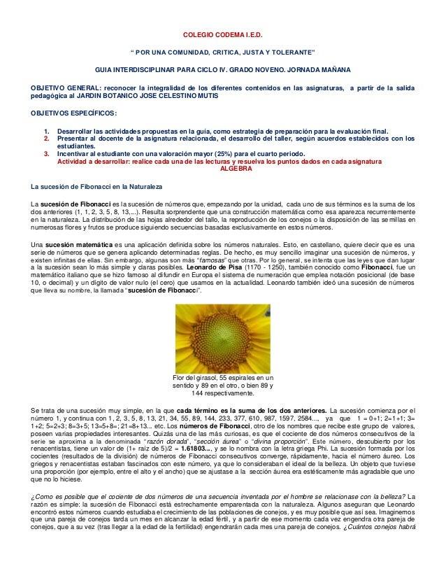 """COLEGIO CODEMA I.E.D.                                   """" POR UNA COMUNIDAD, CRITICA, JUSTA Y TOLERANTE""""                  ..."""