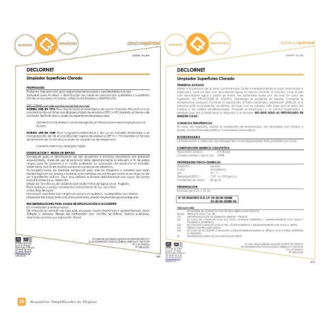 31Requisitos Simplificados de Higiene