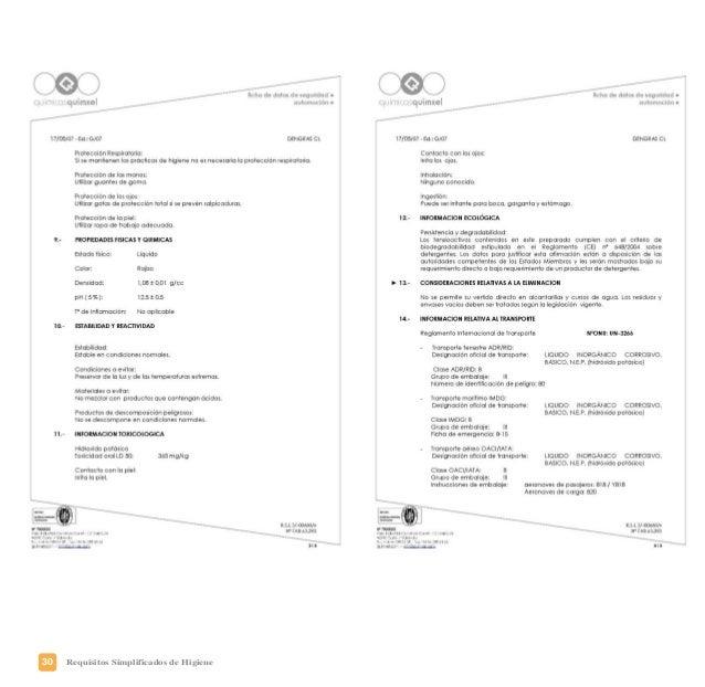 33Requisitos Simplificados de Higiene