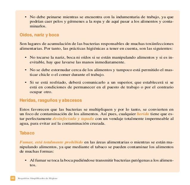 43Requisitos Simplificados de Higiene PRÁCTICAS CORRECTAS DE HIGIENE SIMPLIFICADAS Las Prácticas Correctas de Higiene Simp...