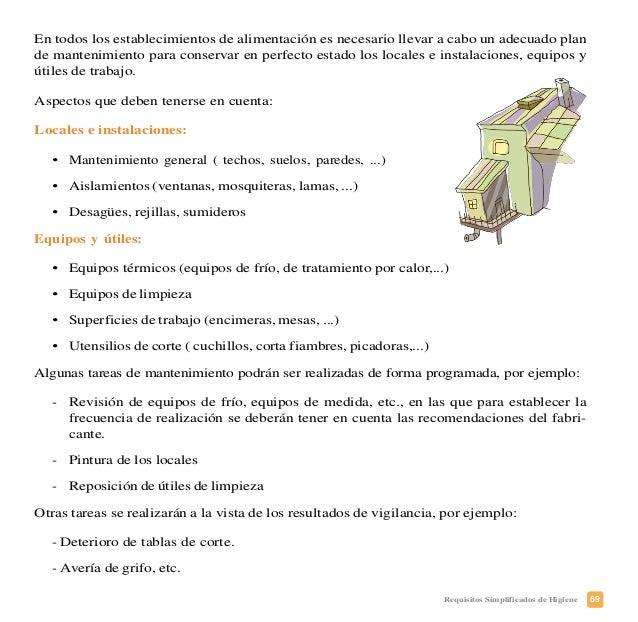 72 Requisitos Simplificados de Higiene PLAN DE CONTROL DEL AGUA APTA PARA EL CONSUMO HUMANO ¿Qué debe usted conocer? • Agu...